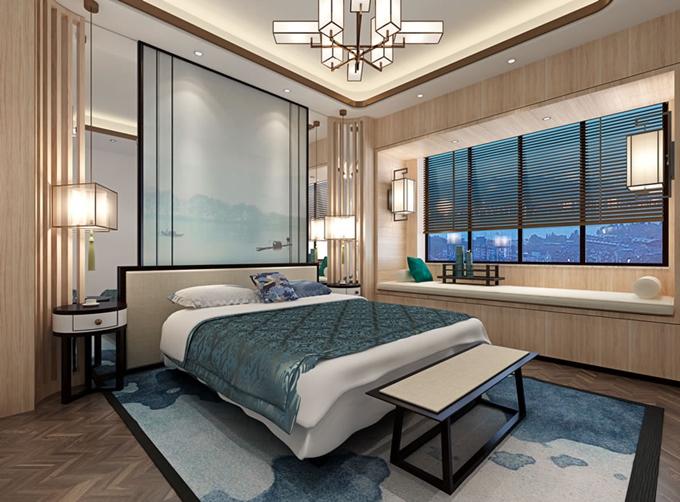 梦乐城自建房 新中式风格