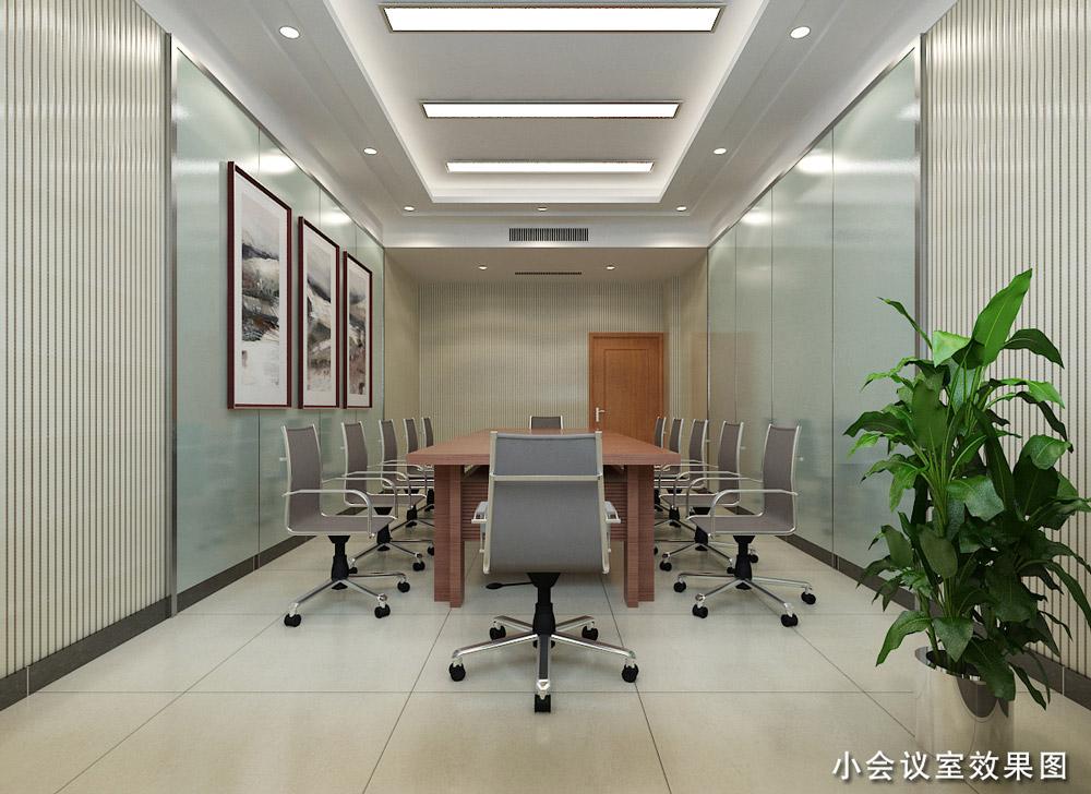 聊城裝修案例開發區辦公樓效果圖