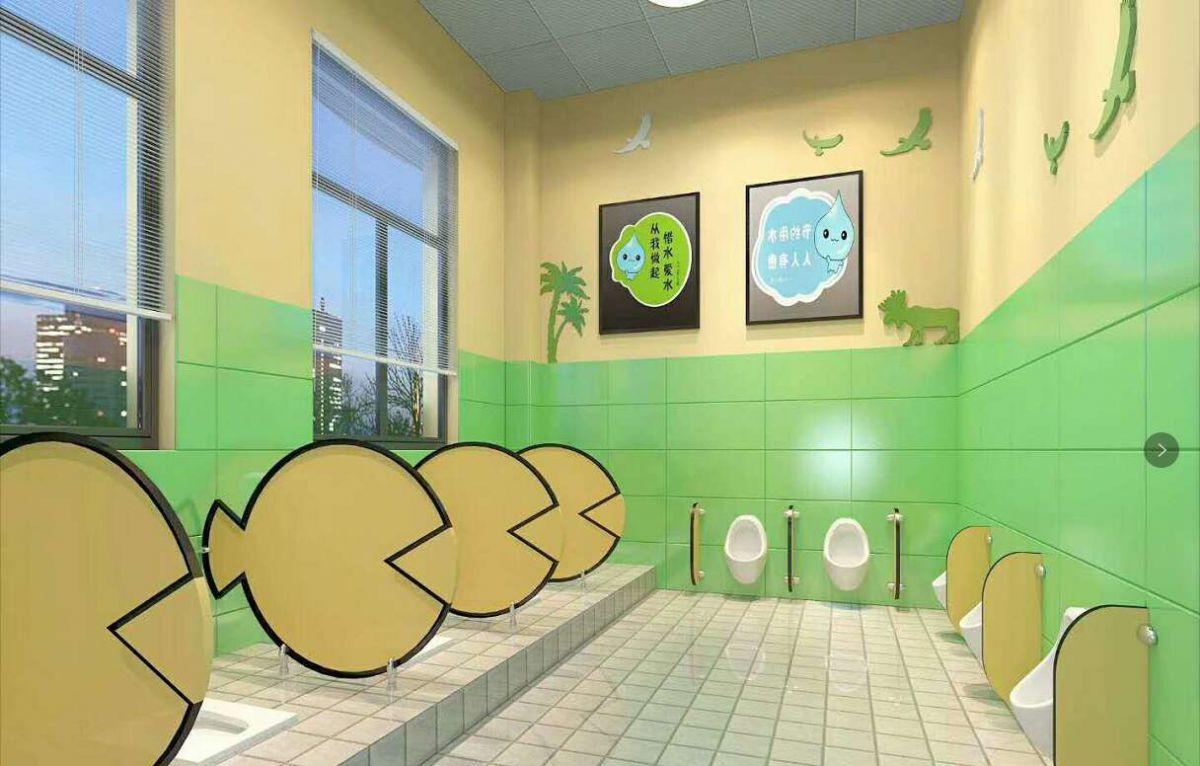 聊城裝修案例實驗小學幼兒園