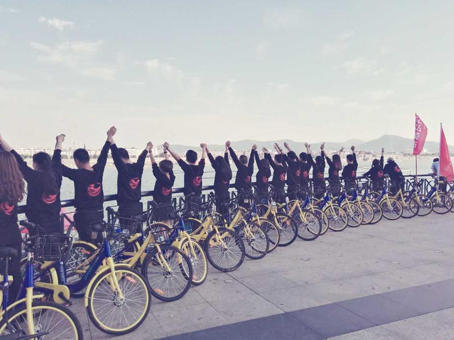 骑共享单车,游襄阳名地