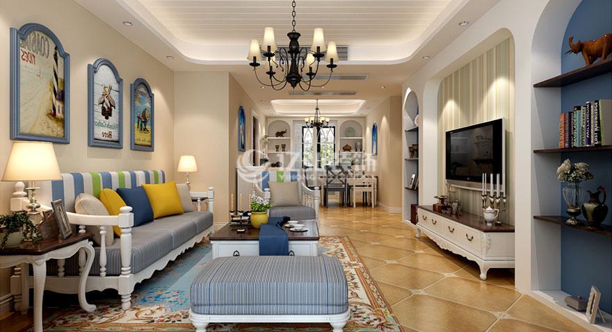 140平米四室两厅美式风格