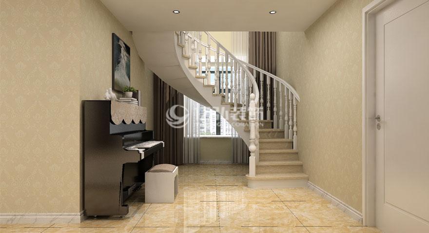 都会山230平米现代风格复式楼装修效果图