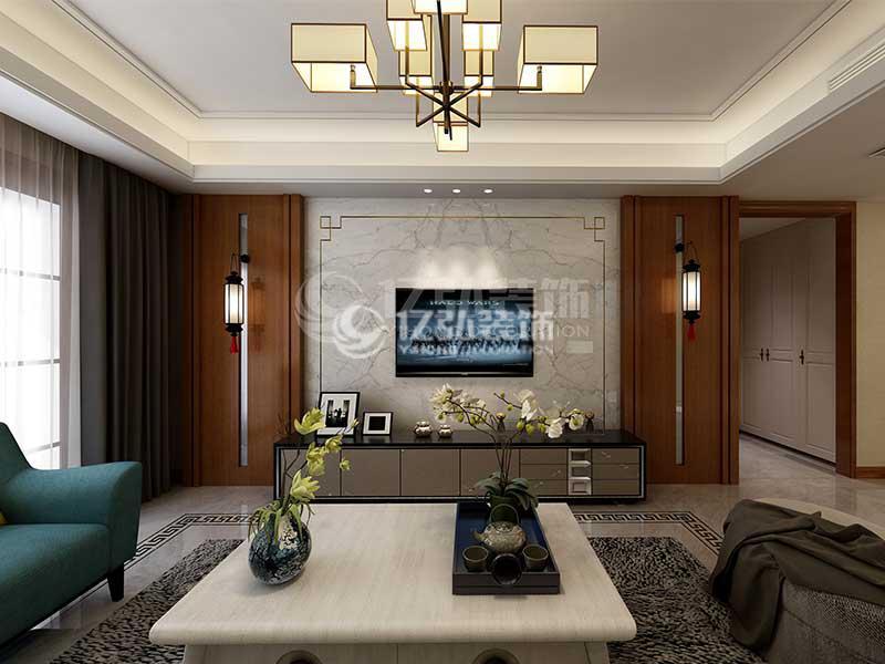 襄阳九街十八巷138平米新中式美宅,稳重雅致,韵味十足!