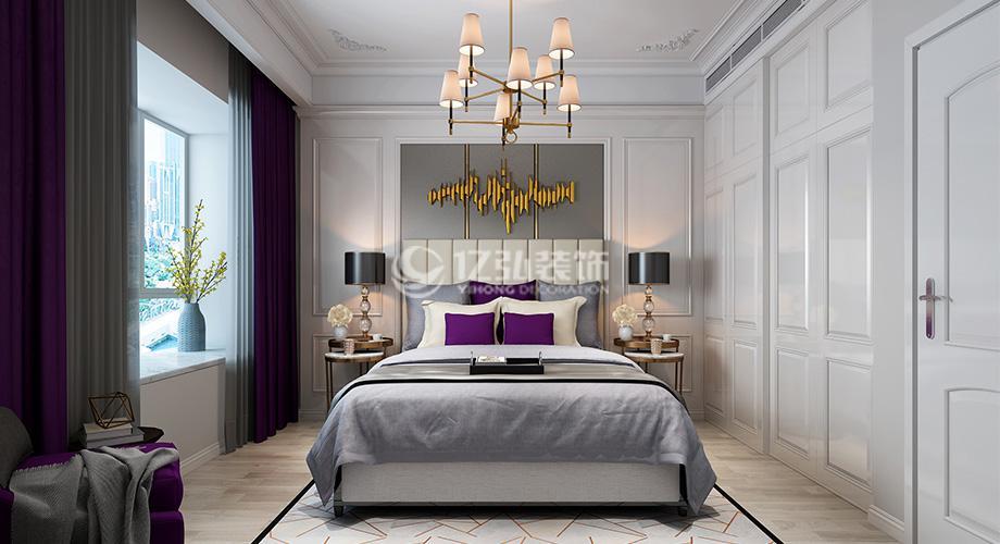 襄阳九街十八巷173平米四室两厅现代轻奢风格装修案例,质感细腻,优雅低调!