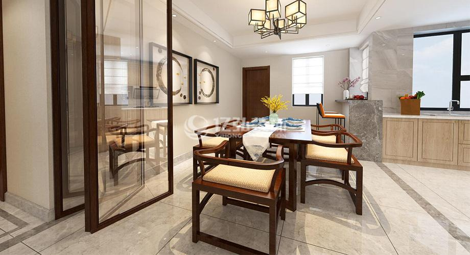 襄阳国色天襄180平米四室两厅新中式时尚雅居,质朴大气,雅致惬意!