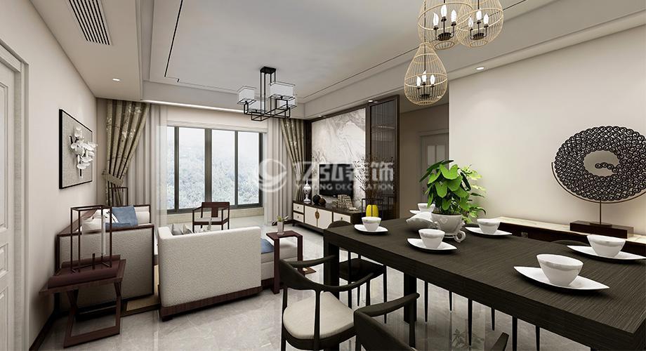 襄阳国色天襄130平米三室两厅新中式,用经典元素打造质感生活!