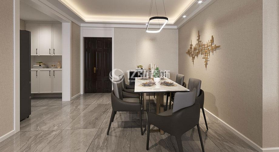 襄阳九街十八巷138平米现代轻奢风格装修,打造精致时尚生活!