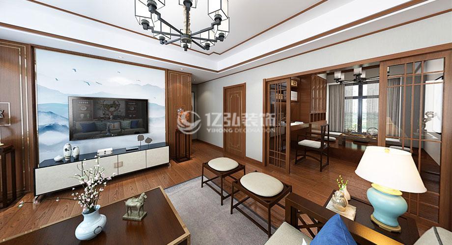 金色营盘140平米新中式风格装修,内敛轻奢倍感时尚!