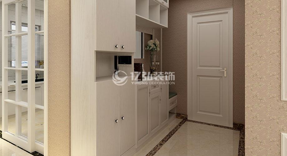 襄阳东津世纪城137平米三室两厅装修
