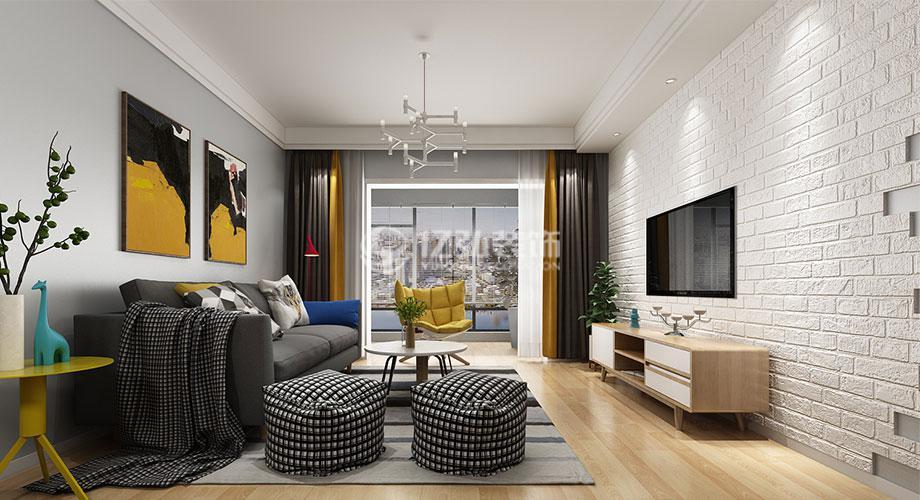 128平米北欧风格三居室,文艺淡雅,自然清新!