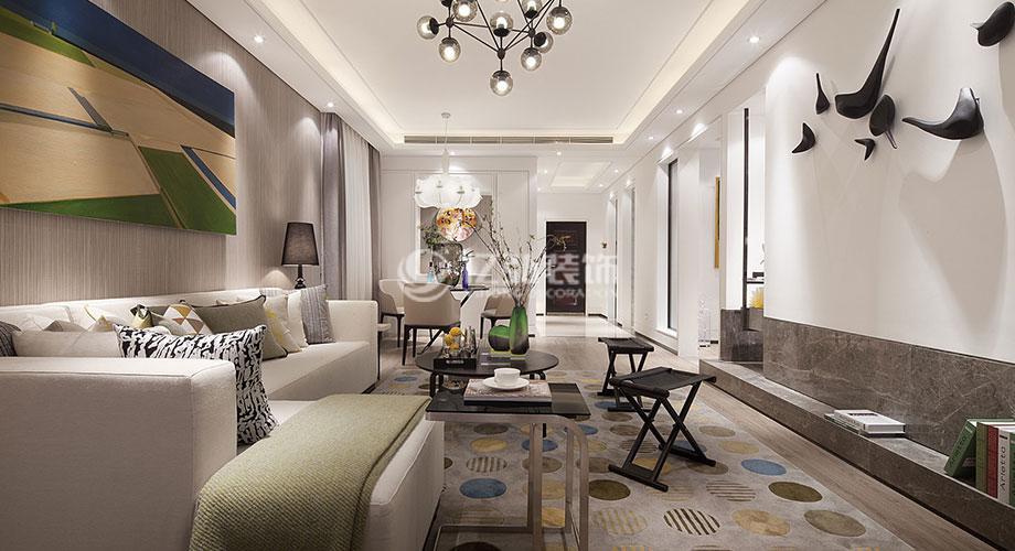 153平米三室两厅北欧风格装修案例,简洁自然,清新脱俗!