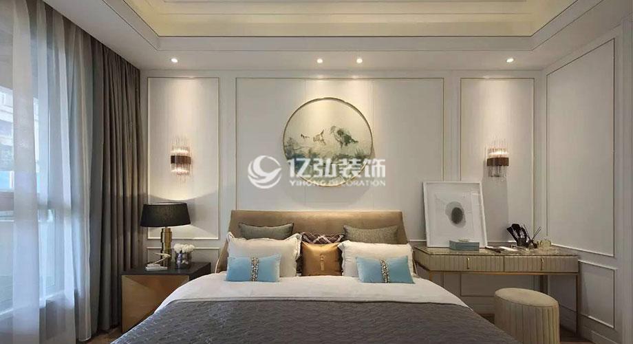 襄阳装修案例 绿地166平米法式风格装修,浪漫又有品位!