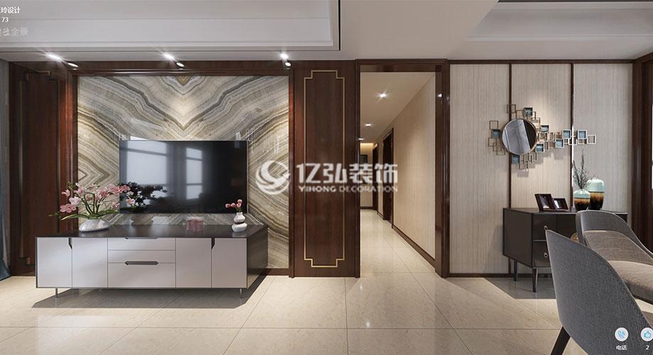 襄阳山河万里140平米现代风格装修,简约质感尽显都市魅力!