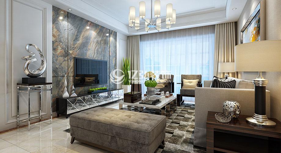 襄阳国色天襄138平米现代风格三居室,诠释简约不失韵味的魅力!