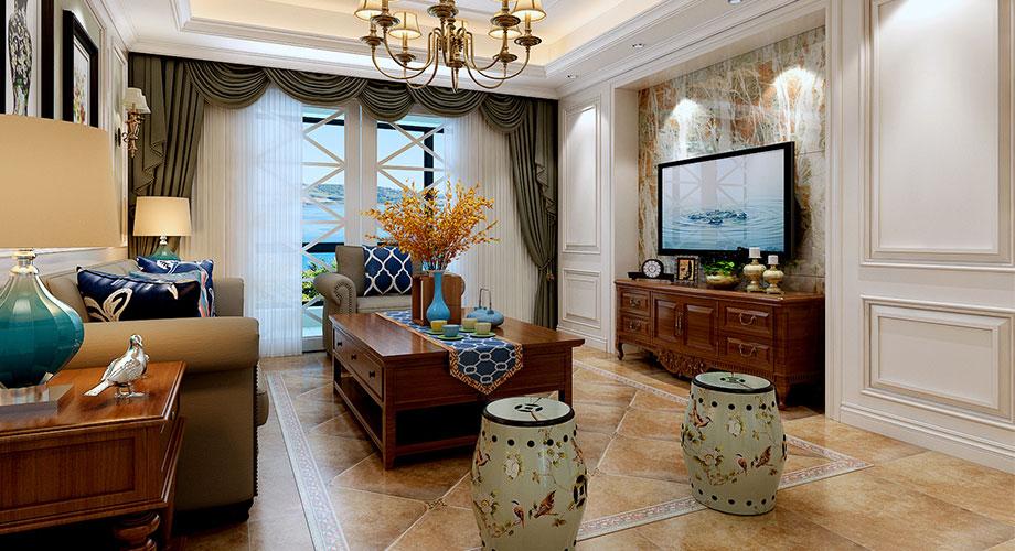 襄阳绿地155平米五室两厅简美风格装修案例,和谐舒适,简而不凡!