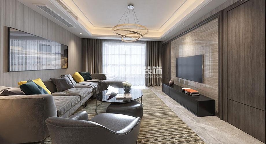 襄阳绿地160平米港式风格洋房设计,现代而不失品位!