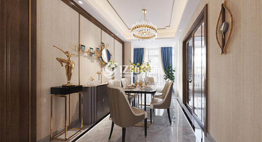 九街十八巷130平米现代简约风格装修,融入浪漫与优雅的生活!