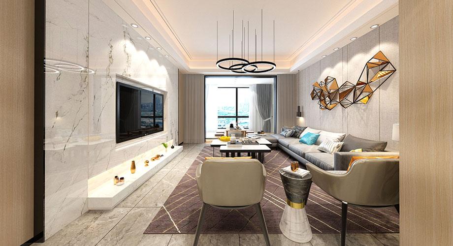 九街十八巷170平米现代风格装修,质感大气,优雅时尚!