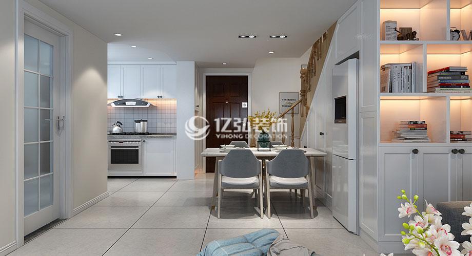 普鑫上东郡110平LOFT公寓,北欧极简风,享受安静美好生活!