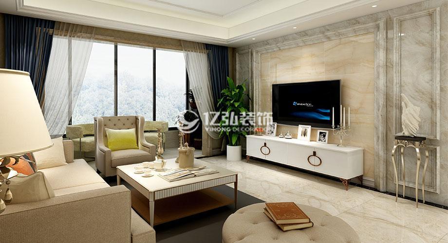 襄阳绿地三期138平米四室两厅现代风格装修案例,简洁干净明朗~
