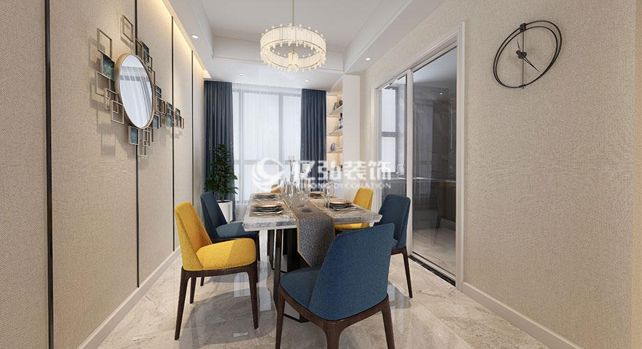 襄阳绿地140平米现代风格四居室,精致浪漫,一见倾心!