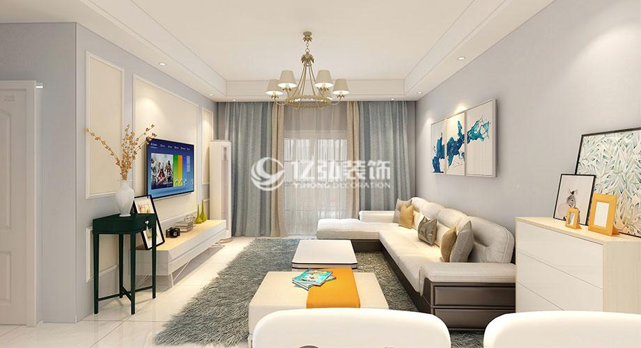 襄阳装修案例鼎府六期112平米现代简约风格装修案例,清新时尚,轻松舒适!