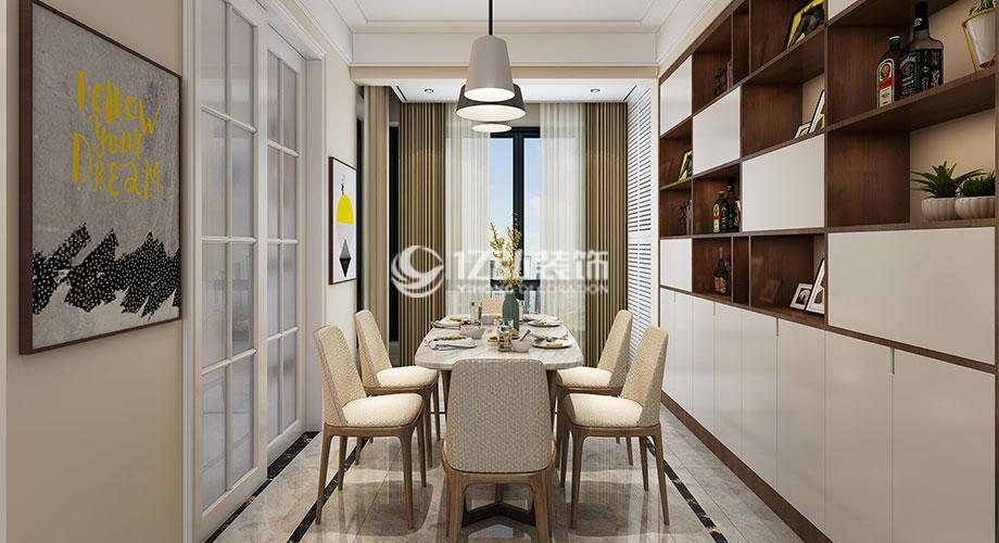九街十八巷139平米现代中式风格装修,典雅大气又不失现代感!