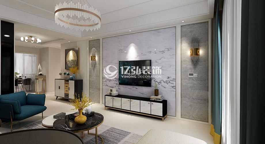 襄阳装修案例 五月花135平米现代风格装修,简约而有品位的质感生活!