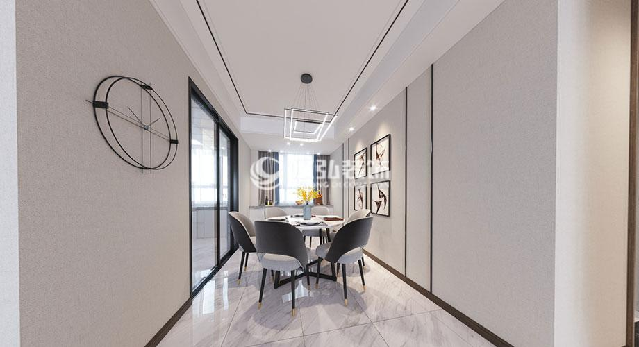 富春山居140平米现代轻奢风格装修,精致高端有态度!