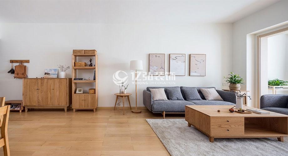 航宇幸福家园94平米日式风格装修,原木自然,清新浪漫!