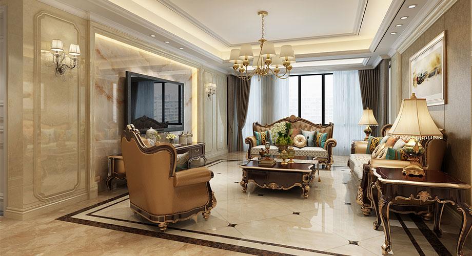 汉江明珠230平米欧式风格复式楼,低调奢华有品质!