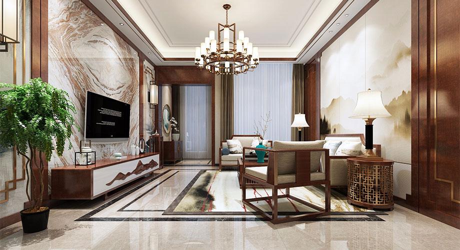 300㎡禅意新中式别墅,纷繁都市中的诗意栖居!