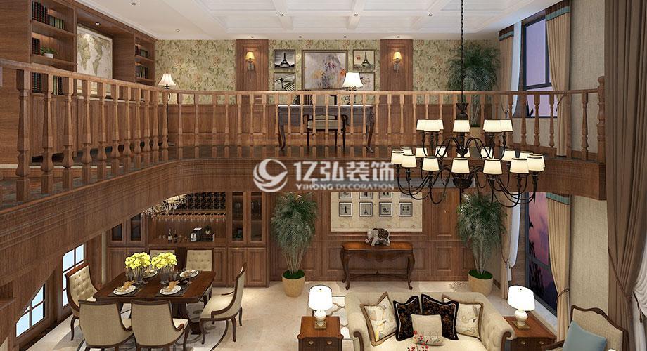 210平米美式大户型别墅设计案例,高贵的气质,浪漫的情调!