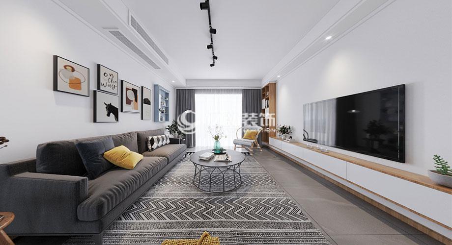 210平米北欧风格复式楼装修,自然舒适,慵懒惬意!