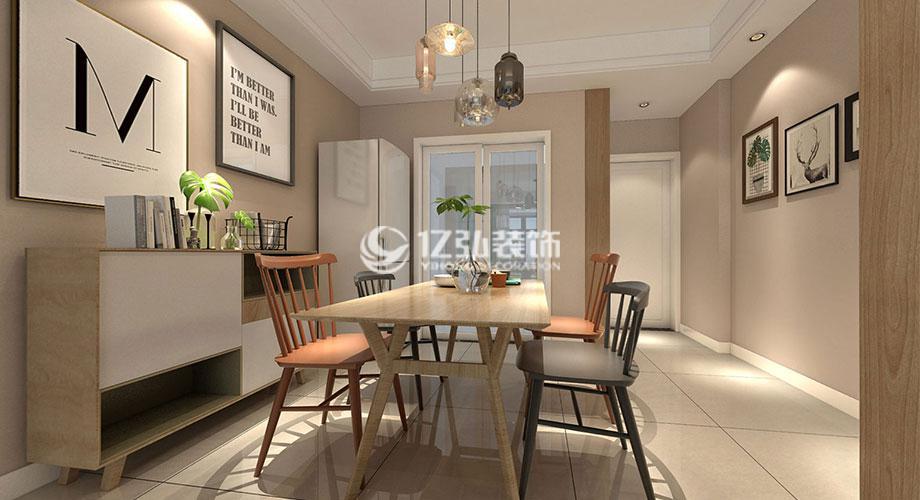 襄阳装修案例上品百合园90平米现代风格两居室,清雅精致,时尚浪漫!