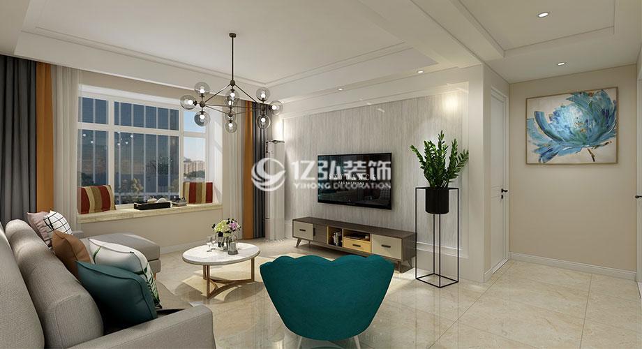 锦绣前程125平米现代风格装修,通透有质感!