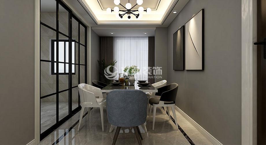 九街十八巷135平米现代风格装修,简洁舒适,素雅大方!