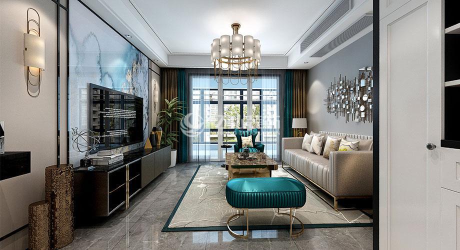 襄阳航宇幸福家园146平米现代风格装修,雅致大气!
