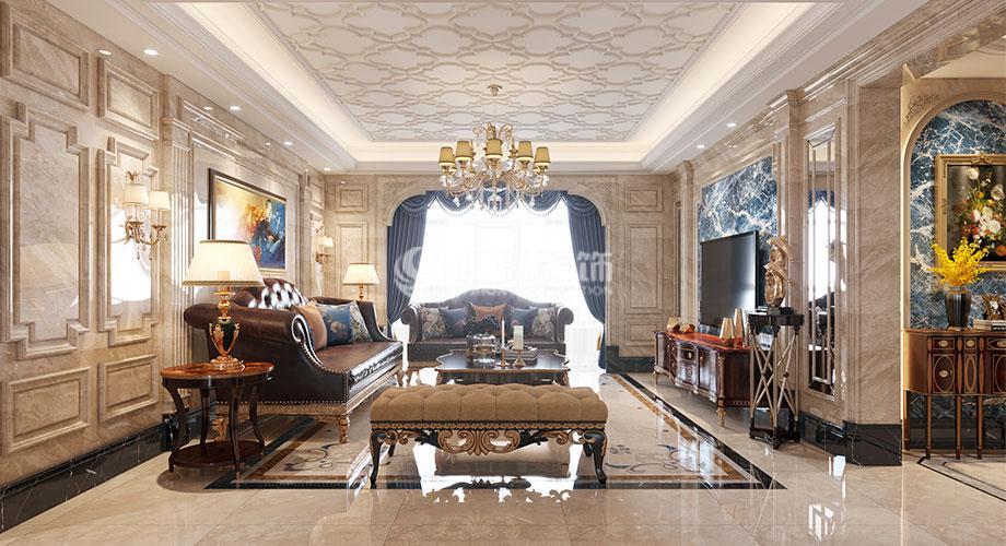 普鑫上东郡245平米欧式风格大平层,奢华大气,雅致浪漫!
