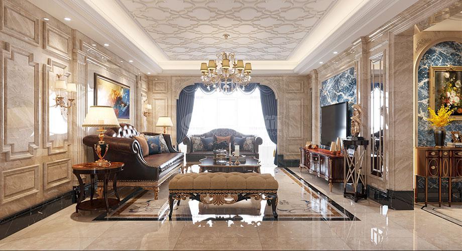 欧式风格客厅装修效果图合辑!