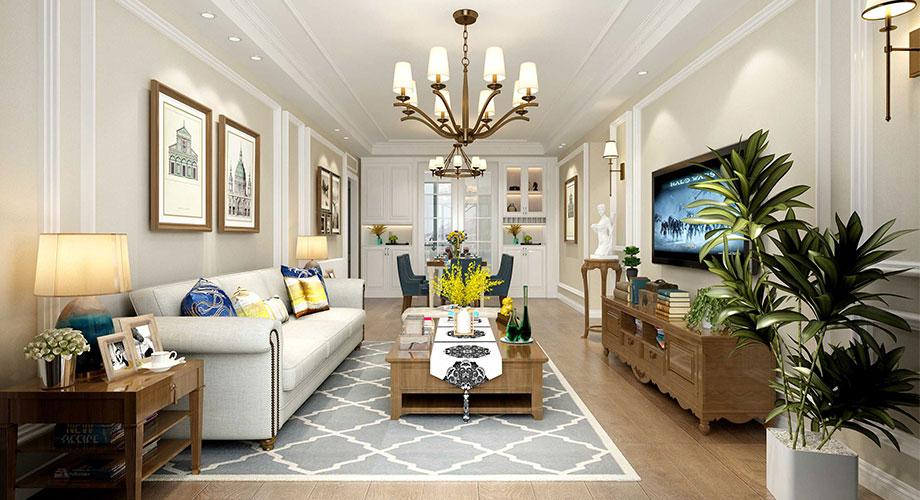 美式风格客厅装修效果图合辑!