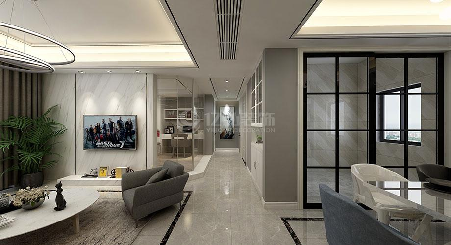 6款高颜值的电视背景墙,将现代风格的颜值展现的淋漓尽致!