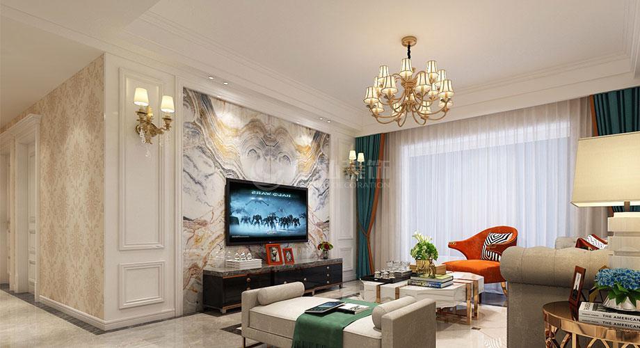 欧式风格电视背景墙,家装品位的象征!