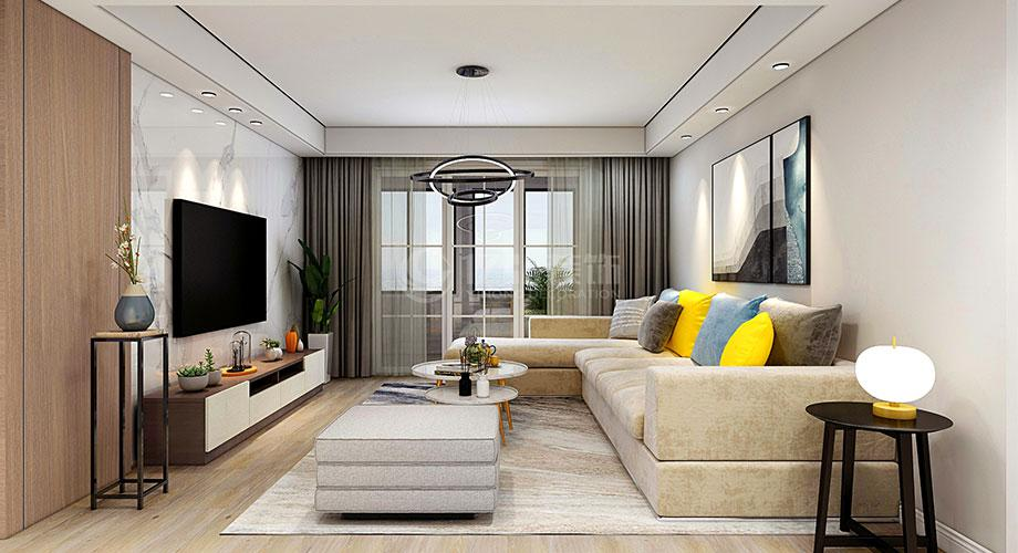 襄阳装修案例襄阳东风佳园142平米现代风格装修效果图!