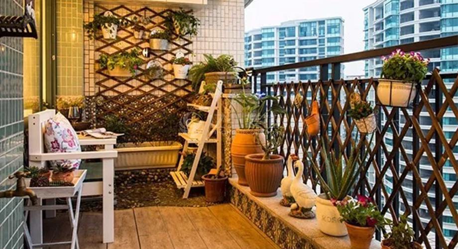几款客厅阳台装修效果图,让人一眼就爱上!
