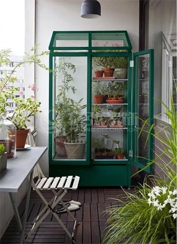 实用阳台装修效果图,小空间也大功能!