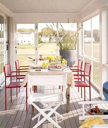 襄阳装修案例阳台装修效果图,把阳台变成一个清新休闲区!