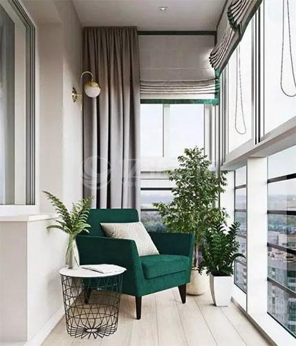 阳台装修效果图,漂亮的阳台设计!