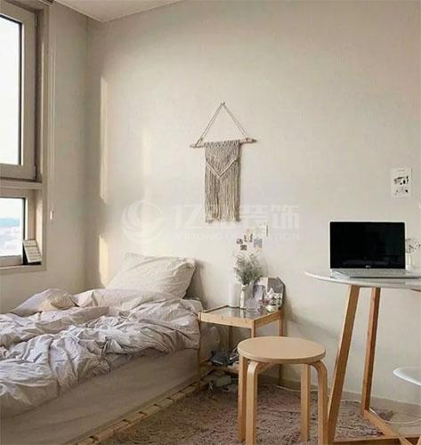 几组ins风小卧室装修效果图,简单温馨房间装修!