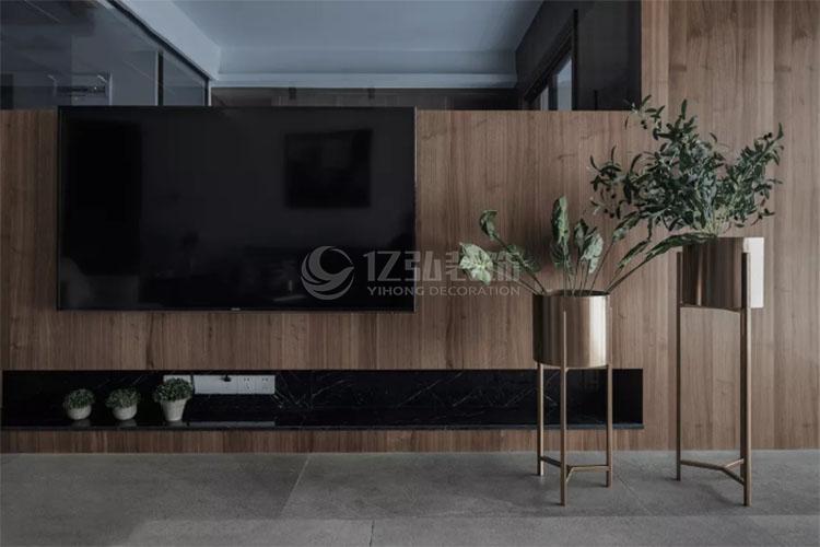 襄阳装修案例客厅电视背景墙装修效果图大全,满足家庭多功能需求!